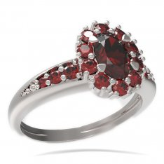 BG ring oval stone 498-J