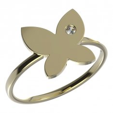 BeKid, Gold kids ring -843