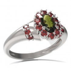 BG ring oval stone 498-K