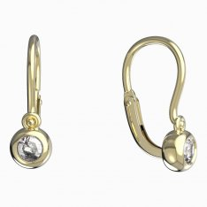 BeKid, Gold kids earrings -101