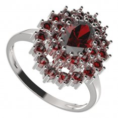 BG ring oval 001-I