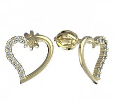 BeKid, Gold kids earrings -1250