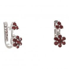 BG earring flower 518-87