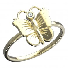 BeKid, Gold kids ring -823