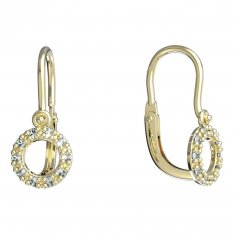 BeKid, Gold kids earrings -836
