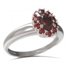 BG ring oval 498-I