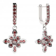 BG earring flower 404-94