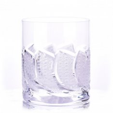 Set of two crystal hand cut tumblers for Šafránek  ORQQI0478