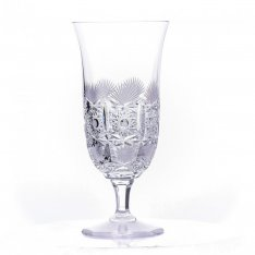Set of two crystal hand cut beer cups Šafránek 637 ORQQI0393