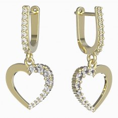BeKid, Gold kids earrings -1263
