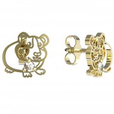 BeKid, Gold kids earrings -1204