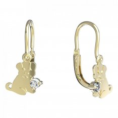 BeKid, Gold kids earrings -1281