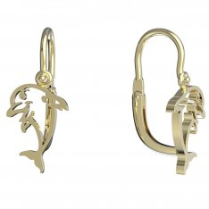 BeKid, Gold kids earrings -1183-