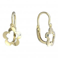 BeKid, Gold kids earrings -832