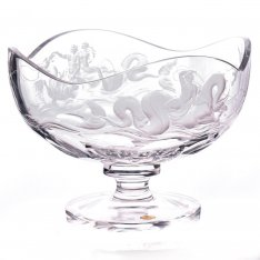 Exclusive hand engraved bowl on the leg Neptune SRQA0DM24
