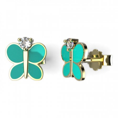 BeKid, Gold kids earrings -1280
