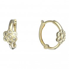 BeKid, Gold kids earrings -1343