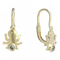BeKid, Gold kids earrings -1274