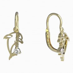 BeKid, Gold kids earrings -1183