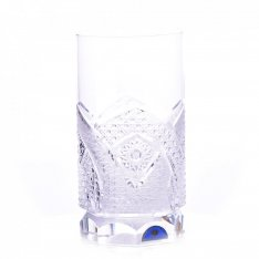 Set of two crystal hand cut water drains Šafránek 907 ORQQI0028