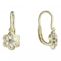 BeKid, Gold kids earrings -866