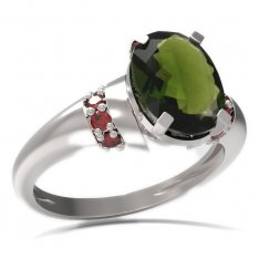 BG ring oval stone 493-K