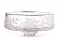Exclusive a hand engraved bowl luna SRQJ00008
