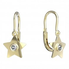 BeKid, Gold kids earrings -1273