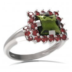BG ring square stone 499-K