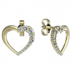 BeKid, Gold kids earrings -1255