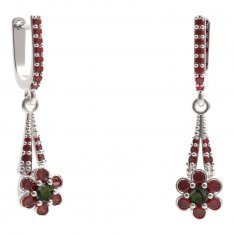BG earring flower 518-G91