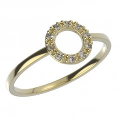 BeKid, Gold kids ring -836