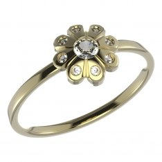 BeKid, Gold kids ring -838