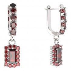 BG rectangle earring 431-96