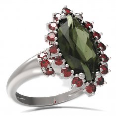 BG ring oval stone 513-K