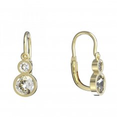 BeKid, Gold kids earrings -864