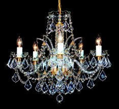 Crystal chandelier-LQQQQB300