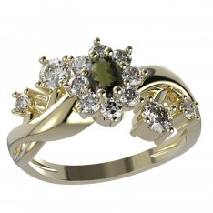BG ring oval 627-P