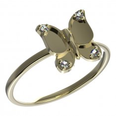BeKid, Gold kids ring -845