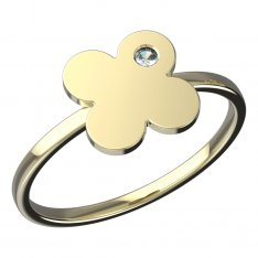 BeKid, Gold kids ring -828