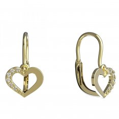 BeKid, Gold kids earrings 597