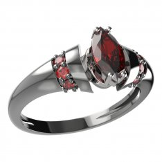 BG ring oval stone 483-K