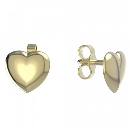 BeKid, Gold kids earrings -865o - Switching on: Brizura 0-3 roky, Metal: Yellow gold 585