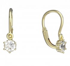 BeKid, Gold kids earrings -1293