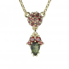 BG garnet necklace 959