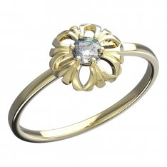 BeKid, Gold kids ring -607