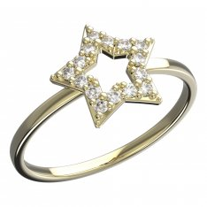 BeKid, Gold kids ring -826