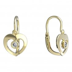 BeKid, Gold kids earrings -848